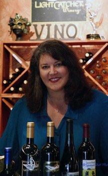 Caris Turpen - Owner and Winermaker LightCatcher Winery