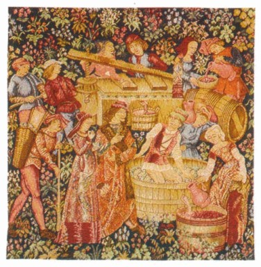 Old Wine Tapestry
