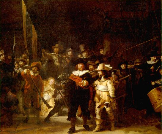 Rembrandt\'s Masterpiece - Night Watch