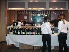 Wine Competition Staging Area