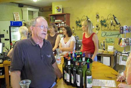Gary Gilstrap, Owner/Winermaker at Texas Hills Vineyard