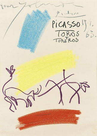 Picasso-Cowboy-with-longhor